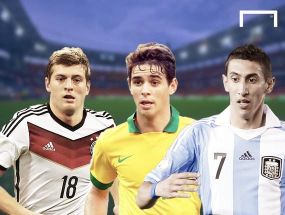10 gương mặt sáng giá cho giải Cầu thủ hay nhất World Cup