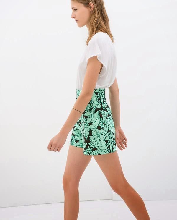 3. Mặc shorts cạp cao