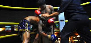 một trận đấu Muay Thái