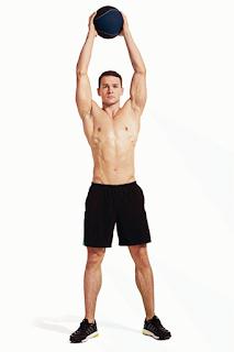Cách tập cơ bụng 6 múi tại nhà cực chuẩn - tập đập bóng