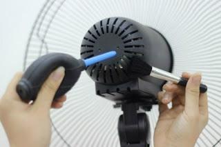 Bảo dưỡng quạt điện