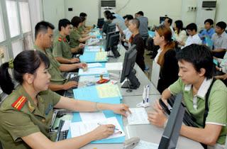Thủ tục xin visa nhập cảnh vào Việt Nam