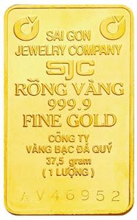 1 lượng vàng SJC
