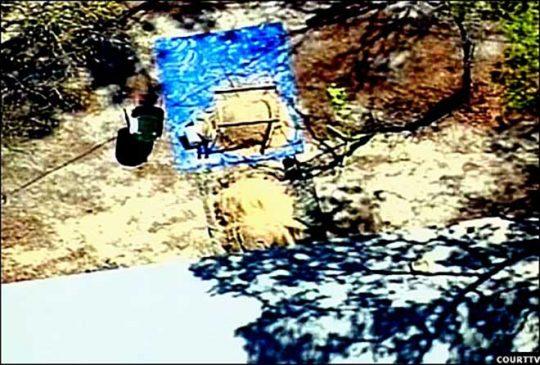 Ngôi mộ nơi cô bé 9 tuổi bị chôn sống.