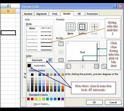 Tao hieu ung 3D Excel