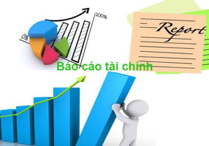 báo cáo tài chính