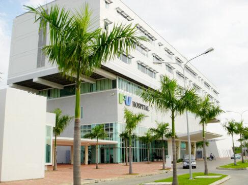Franco-Vietnamese Hospital in Saigon