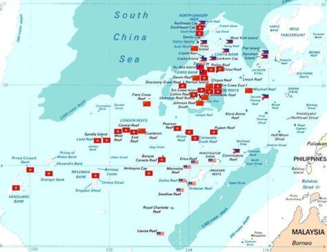 Hoàng Sa, Trường Sa: Thực trạng đóng quân (giữ đảo) của các nước hiện nay