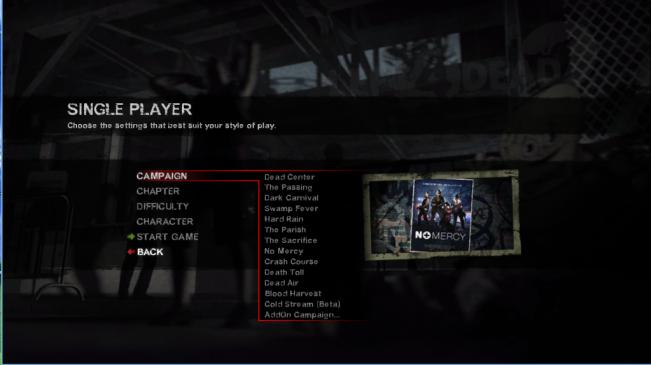 Danh sách map Left 4 Dead 2