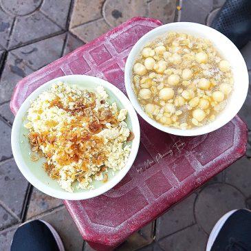 Che do xanh vien chao khoai Hai Phong