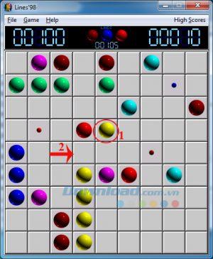 Giới thiệu mẹo chơi Line 98 điểm cao