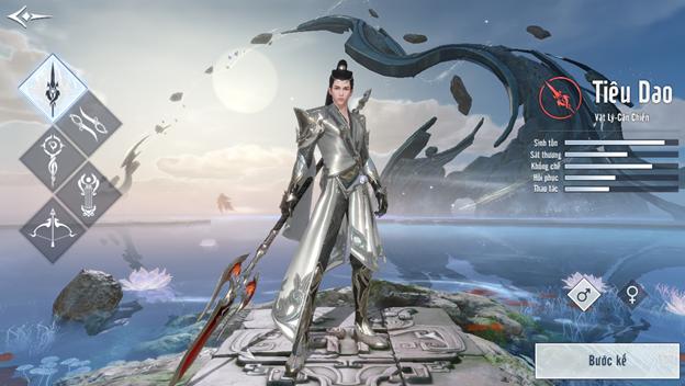 Class Tiêu Dao game Tuyết Ưng VNG