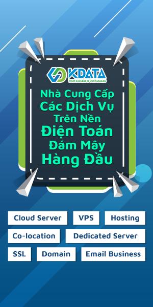 Kdata nhà cung cấp dịch vụ điện toán đám mây