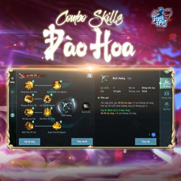 combo skill Dao Hoa